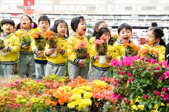 농협유통, 꽃 사세요~꽃을 사~봄향기 가득한 봄꽃 축제