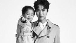 고지용♥승재 부자 화보…댄디한 아빠와 발랄한 아들