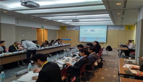 APEC기후센터, 녹색 에너지, 운송 및 녹색도시를 위한 정책워크숍 개최