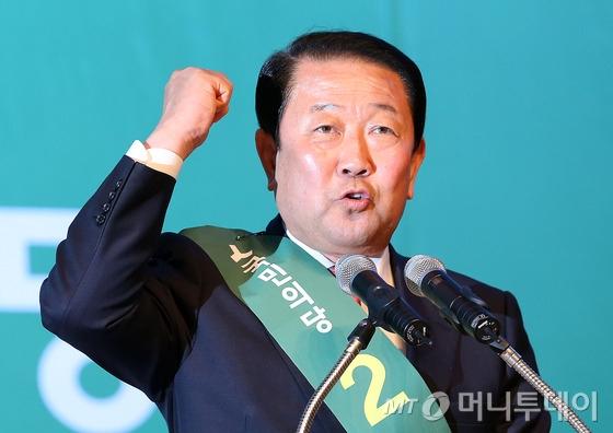 """[풀영상]'반문' 강조한 """"호남의 화신"""" 박주선, 첫 경선서 '3위' 그쳐"""