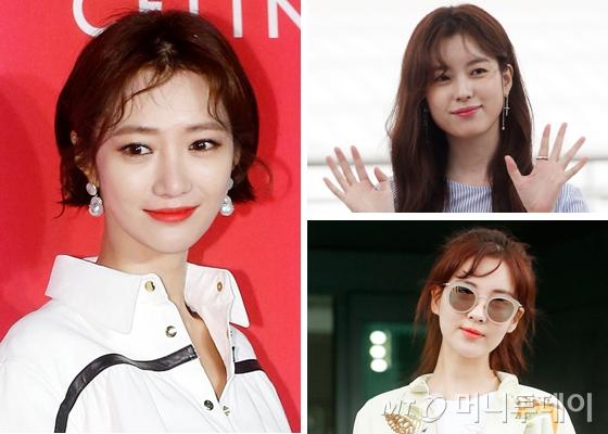 배우 고준희, 한효주, 소녀시대 서현 /사진=머니투데이DB