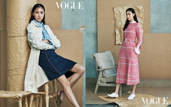 패션 매거진 보그 코리아(Vogue Korea)와 함께한 빈폴레이디스 '스튜디오 B' 컬렉션 화보/사진제공=삼성물산 패션부문