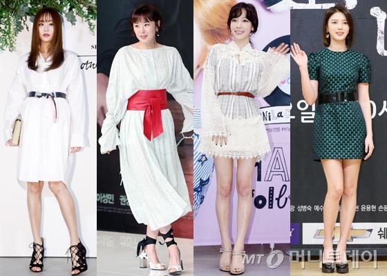 왼쪽부터 김효진, 최강희, 태연, 엄현경 /사진=머니투데이DB
