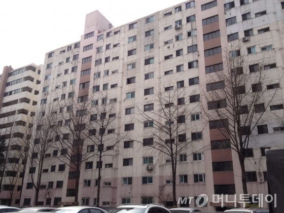 서울시내의 한 아파트단지 전경