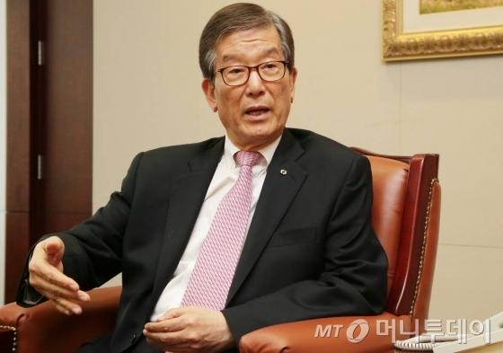 이동걸 산업은행 회장 인터뷰 / 사진=김창현 기자
