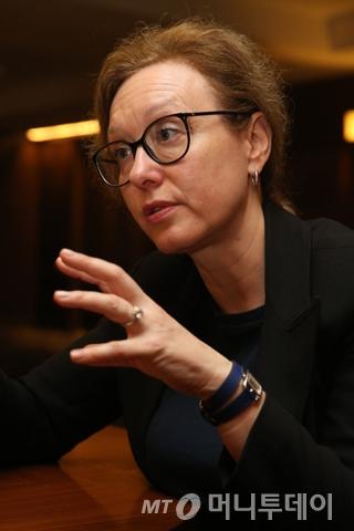 카탈린 베르니 에르보리앙 대표/사진=이기범 기자