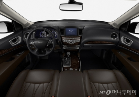 '2017년형 QX60' 내부 디자인/사진제공=인피니티 코리아