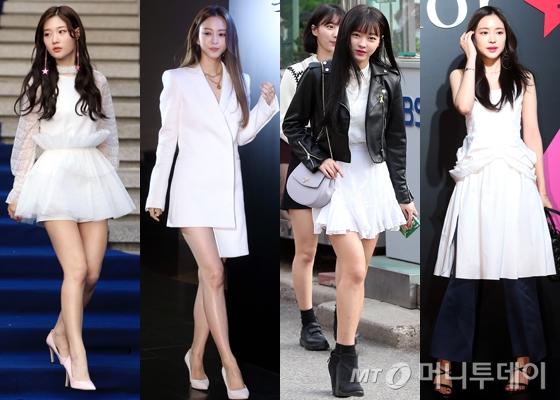다이아 정채연, 배우 한예슬, 오마이걸 유아,  에이핑크 손나은 /사진=머니투데이DB