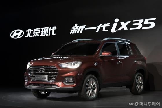 중국 전략형 SUV '신형 ix35'/사진제공=현대차