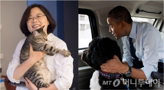 대만 차이잉원 총통, 미국 오바마 전 대통령/사진=페이스북
