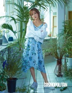 """제시카 화보, 원피스에 흰 운동화 패션…""""세련된 서머룩"""""""