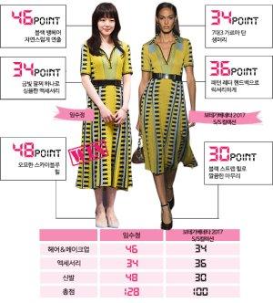 임수정 vs 모델, '옐로 원피스' 대결…봄 패션 승자는?