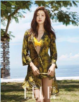 """서지혜, 비키니+로브로 우아하게…""""휴양지 여신"""""""