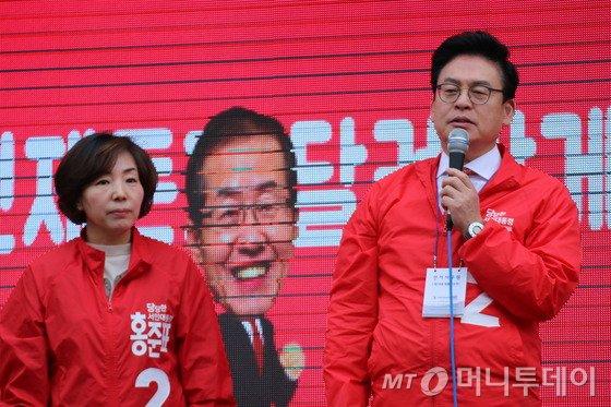 자유한국당 정우택 중앙선대위원장. 2017.4.20./뉴스1   <저작권자 © 뉴스1코리아, 무단전재 및 재배포 금지>