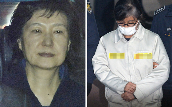 박근혜 전 대통령(왼쪽)과 최순실씨./ 사진=뉴스1