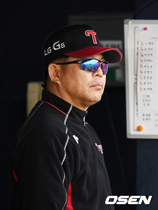 LG 양상문 감독.