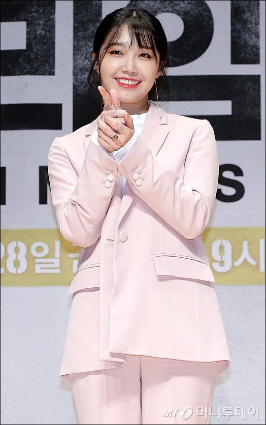 [★화보]정은지, '봄처럼 화사한 미모'
