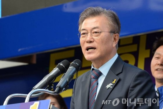 문재인 더불어민주당 대선 후보. /사진=이동훈 기자