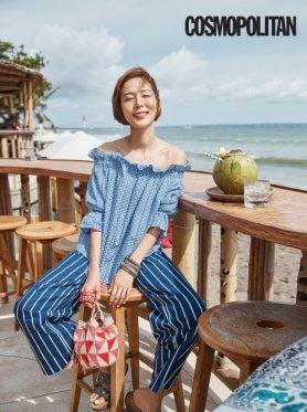 """김나영, 멋스러운 '해변의 여인'…청량감 """"물씬"""""""