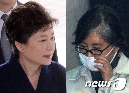 박근혜 전 대통령과 최순실씨는 다음달 9일 제19대 대통령선거 거소투표 대상자다. 거소투표는 미결수를 대상으로 실시된다. 1년 이상의 실형 수감자는 투표권이 박탈된다. /사진=뉴스1
