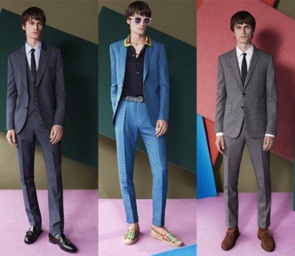 폴 스미스, 컬러와 패턴 살린 '봄 슈트 라인' 선보여