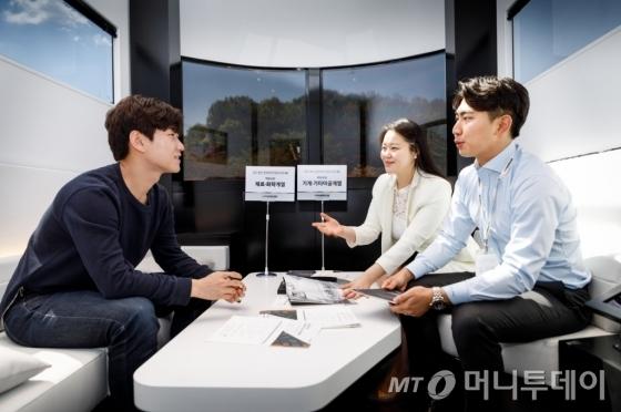 한국타이어 맞춤형 채용설명회 HK취업카페 모습 /사진제공=한국타이어
