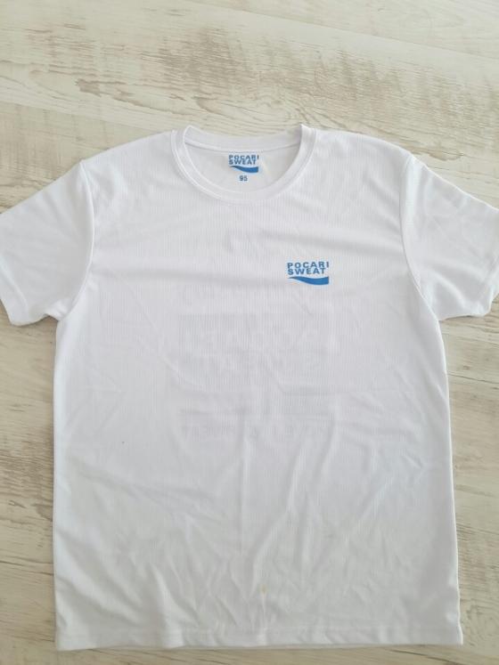 해명글을 올린 누리꾼은 자신이 영상 속 등장하는 남성이라며 포카리스웨트 30주년 기념 블루런 행사 티셔츠를 함께 올렸다. /사진=디씨갤러리 캡처