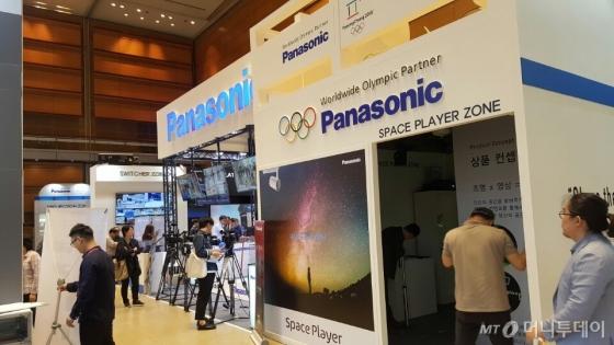 파나소닉코리아는 16일 서울 삼성동 코엑스에서 열리는 'KOBA 2017'에서 스포츠 이벤트에 최적화된 장비들을 대거 선보인다고 밝혔다./ 사진=파나소닉코리아