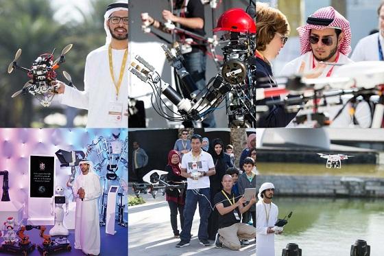 UAE AI&드론 포 굿 대회 장면/사진=UAE AI&드론 포 굿 대회 집행위