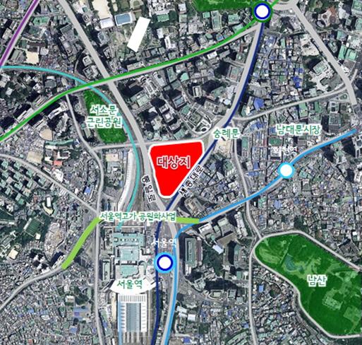 서울시 중구 봉래 사업 대상시/사진=서울시