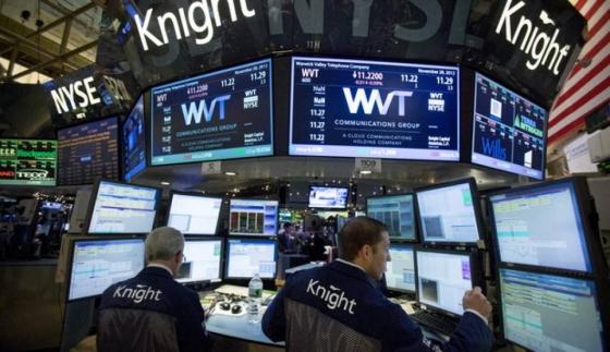 뉴욕증권거래소(NYSE)의 모습./사진=블룸버그