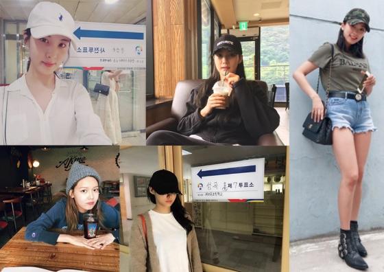 /사진= 서현, 박민영, 수영, 설현, 보라 인스타그램