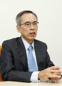 주진형 전 한화투자증권 대표. /사진=김휘선 기자<br />