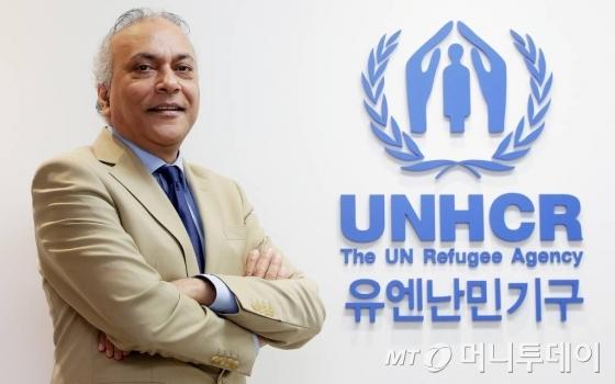 나비드 후세인 유엔난민기구(UNHCR) 한국대표부 대표/사진=김창현 기자