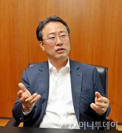 김윤수 스카이라이프 운영총괄부사장<br />
