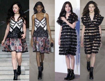설리·공유·아이린…해외 컬렉션 입은 스타들