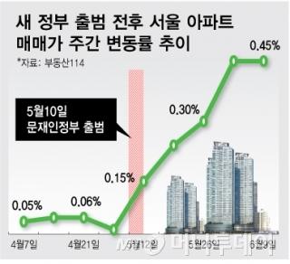 """""""집값 잡으려 동시다발 규제?…강남4구 빼면 '과열'도 아니다"""""""