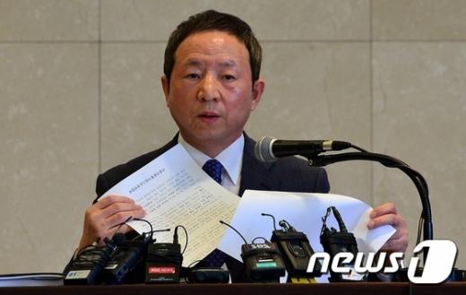 오세목 전국자사고교장협의회장./뉴스1 © News1 손형주 기자