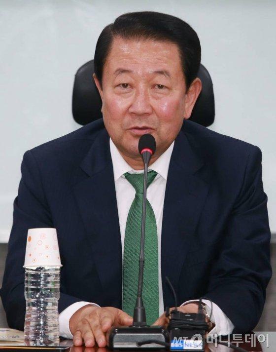박주선 국민의당 비대위원장. /사진=이동훈 기자