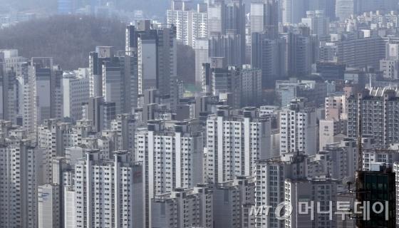 강남 아파트 단지 도곡동 타워팰리스 일대