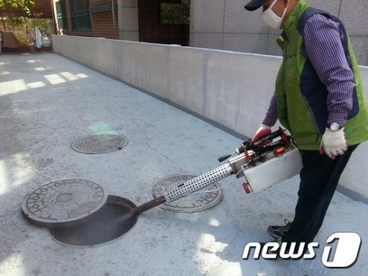 광진구 모기 방역소독(광진구 제공)© News1