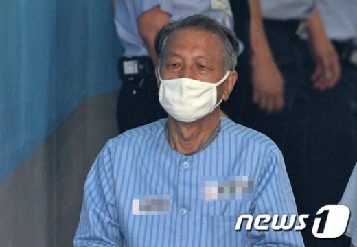 김기춘 전 대통령 비서실장  © News1 이재명 기자
