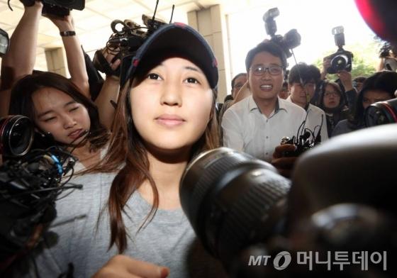 정유라씨/사진=이기범 기자
