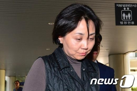 '성추행 논란'을 빚은 박현정 전 서울시향  대표. © News1  민경석 기자