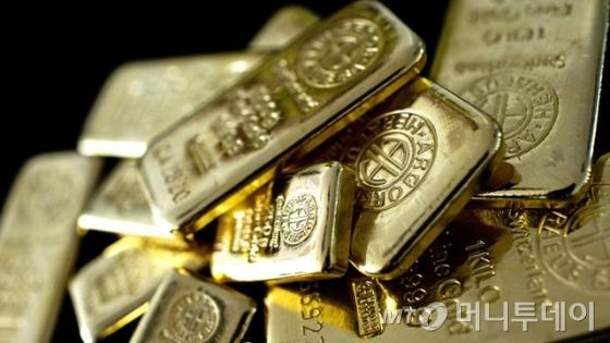 금값, 달러강세와 위험자산선호에 하락...온스당 0.8%↓