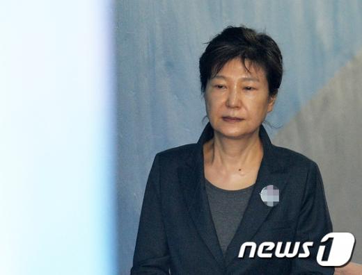 박근혜 전 대통령. 2017.6.19/뉴스1 © News1 이재명 기자