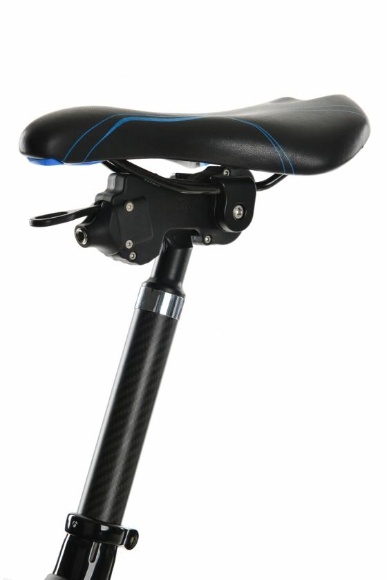 '플렉시' 주행중 지형따라 자전거 안장 조절