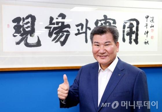 20일 오후 박인규 DGB금융그룹 회장 인터뷰 머투초대석