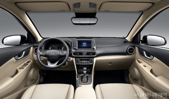 현대차 첫 소형 SUV '코나' 내부/사진제공=현대차