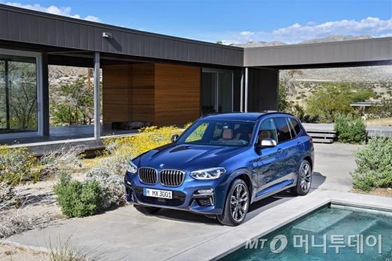 BMW가 6월 26일(현지시간) '뉴 X3'를 공개했다. 뉴 X3는 올 겨울 국내 출시된다./사진=BMW